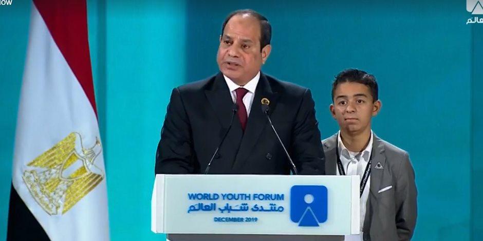 الرئيس السيسى لقادة العالم: اعطوا الشباب مفاتيح القيادة.. فلا مستقبل بغيرهم