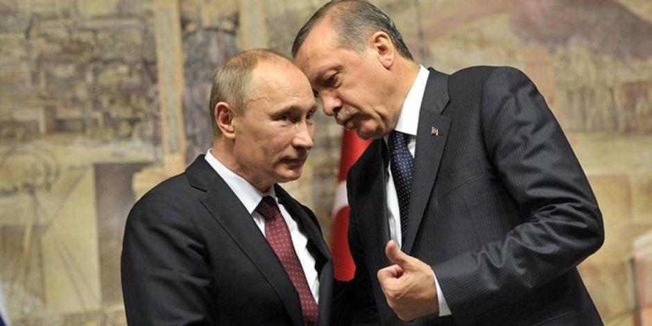 لف وارجع تاني ... أردوغان يقع في مصيدة بوتين بسبب ليبيا
