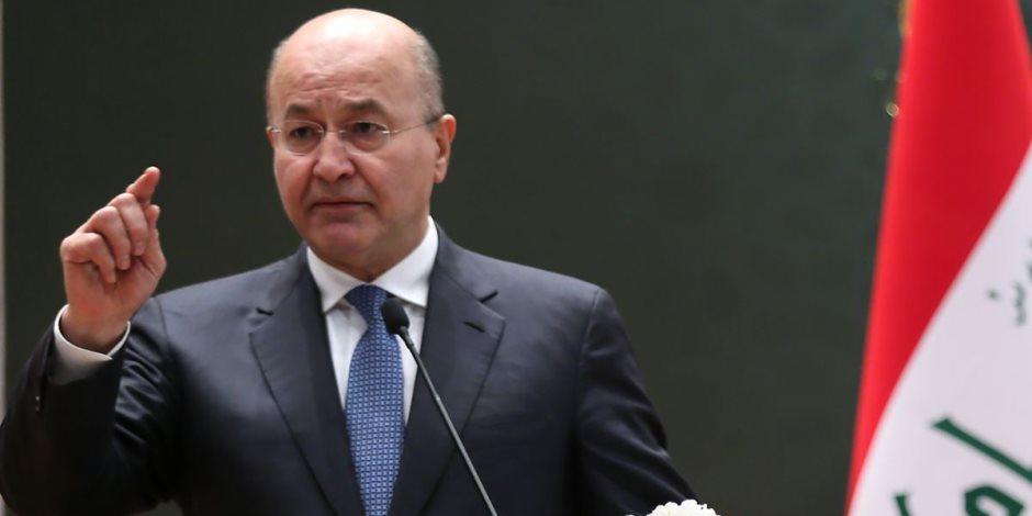 ما بعد الانتخابات النيابية العراقية: الرئيس يدعو للتهدئة والالتزام بموقف وطني