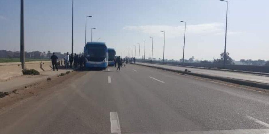 أجهزة الأمن تضبط المتهمين بالاعتداء على مشجعي النادي المصري