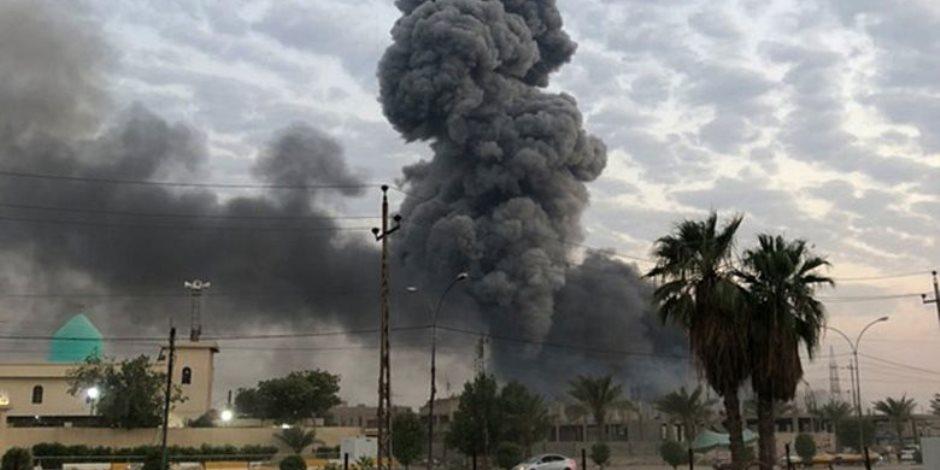 استهداف جوى أمريكي لمركبتين شمال بغداد.. ومقتل قيادي في ميليشيات الحشد