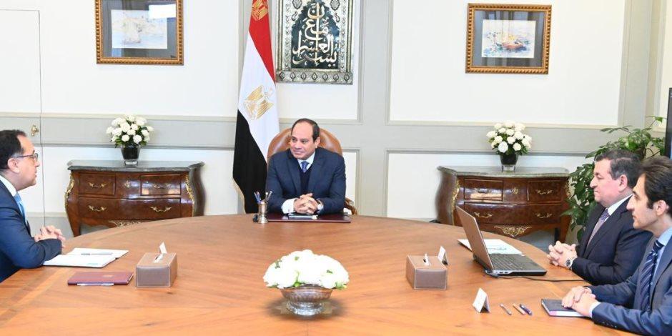 الرئيس السيسي في أول اجتماع بوزير الدولة للإعلام: يجب تحقيق التنسيق والتناغم داخل المنظومة الإعلامية