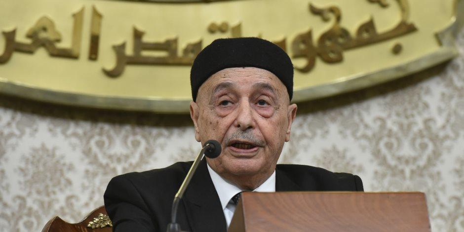 رئيس «النواب الليبي» من القاهرة: مصر لم تتخل عنا يوما.. وتركيا «فاشية»