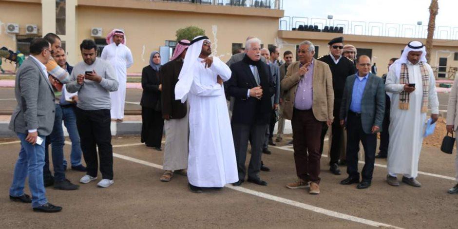 تفاصيل وكواليس استعدادات إقامة مهرجان شرم الشيخ الدولي للهجن (صور)