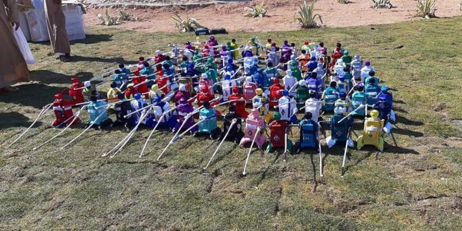 الاتحاد الإماراتي يهدي 100 راكب آلي للهجانة المشاركين بمهرجان شرم الشيخ التراثي (صور)