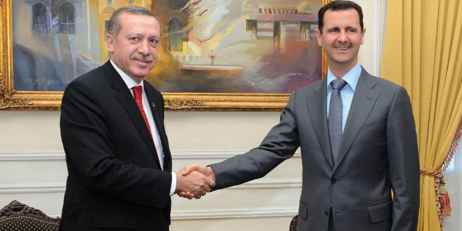 أردوغان الجعجاع.. طالب برحيل الأسد ثم جلس مع رئيس مخابراته