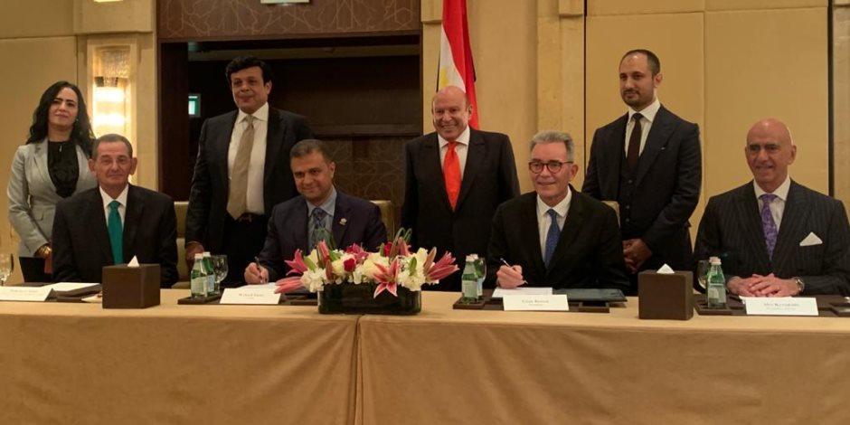 نقلة عالمية.. اللواء محمد أمين يشهد توقيع عقد إدارة ماريوت لفندق الماسة العاصمة الإدارية الجديدة