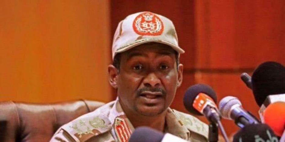 """حميدتي: ليس لدينا خلاف مع القوى المدنية واتهام العسكريين بالانقلاب """"نفاق"""""""