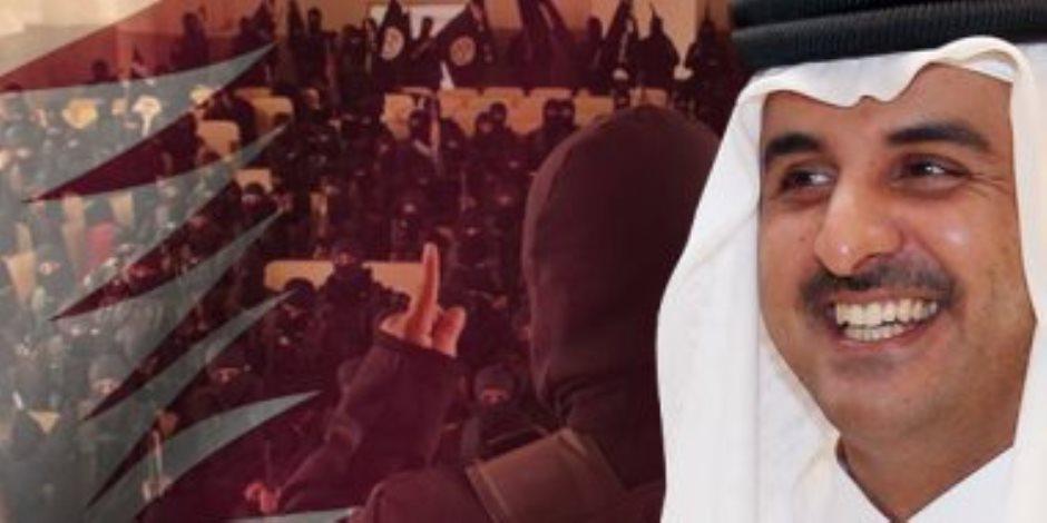 الدور المشبوه لمنظمات قطر الخيرية لا يتوقف في دعم الإرهاب