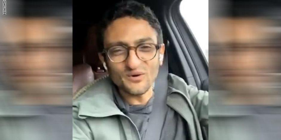 الإخواني الهارب عبدالله الشريف لـ وائل غنيم: «يا زعيم انت عمي» (فيديو)