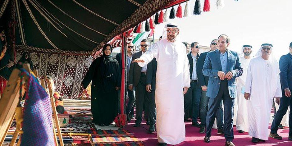 ختام فعاليات مهرجان شرم الشيخ التراثي بتوزيع الكؤوس والجوائز (صور)