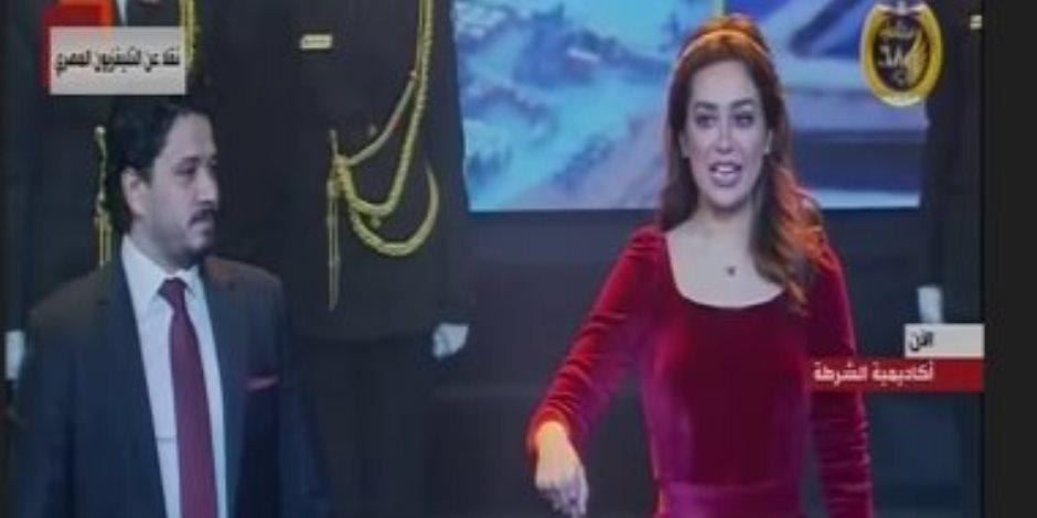 """أغنية """"هنا مصر"""" بحفل عيد الشرطة يبرز دور الداخلية فى حفظ الأمن"""