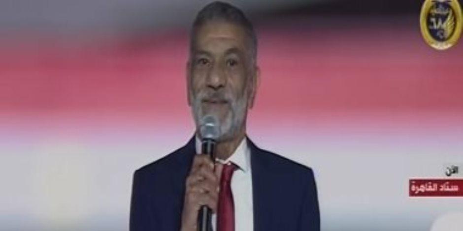 شاهد ..الفنان سيد رجب في احتفالية القبائل المصرية: «العيلة» هي وطننا مصر
