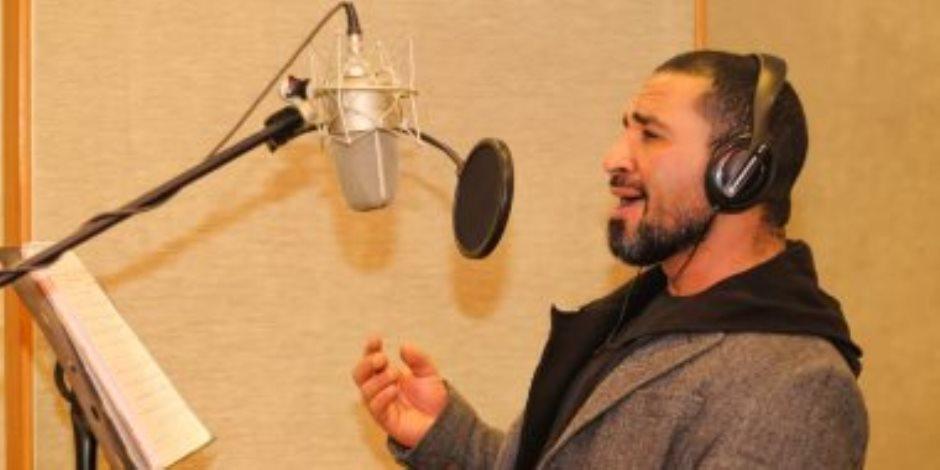 """فيديو.. أحمد سعد يهدى الشرطة فى عيدها أغنية """"يا بلادى"""""""