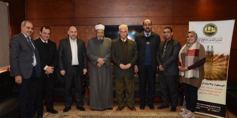 اتفاقية تعاون بين منظمة خريجى الأزهر والهيئة الأوروبية للمراكز الإسلامية