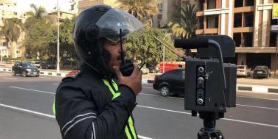 الداخلية تعلن نشر ردارات لمراقبة السرعة بمحاور مصر الجديدة (صور)