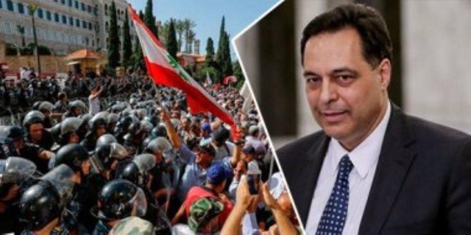 بعد نيلها ثقة النواب.. تحديات اقتصادية تواجه حكومة «دياب» في لبنان