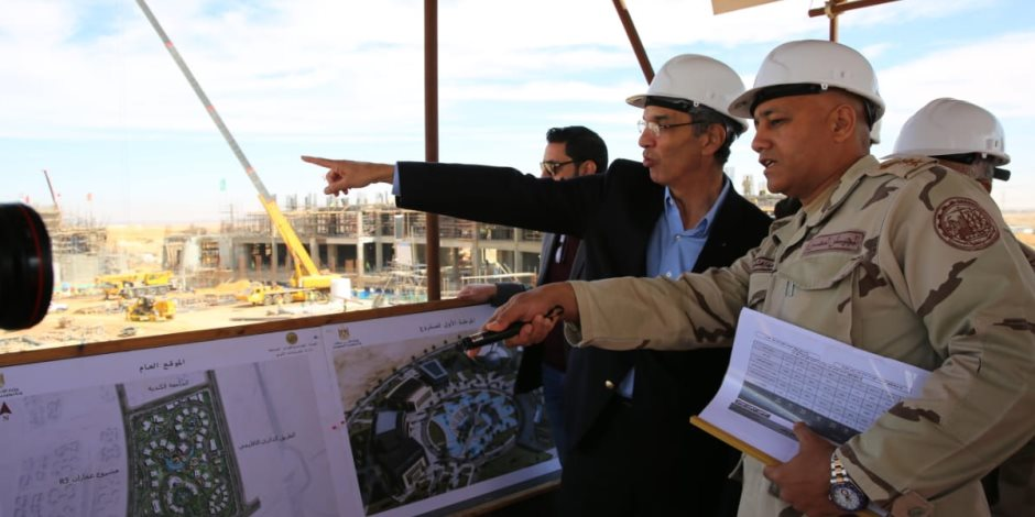 مدينة المعرفة بالعاصمة الإدارية الجديدة.. مشروع واعد نحو بناء مصر الرقمية (صور)