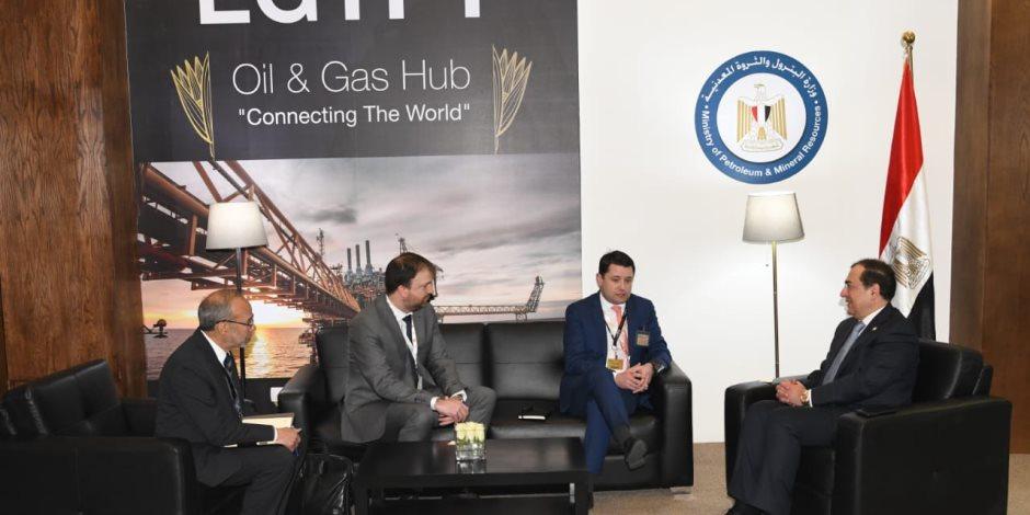 ماذا دار في لقاء وزير البترول ومدير عام المشروعات بأرامكو السعودية ورئيس انيرجين اليونانية؟