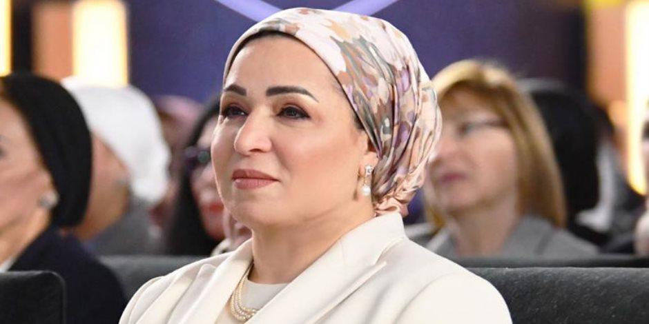 انتصار السيسى مهنئة بعيد الأم: تحية وتقدير واحترام لكل أم معلمة وقائدة
