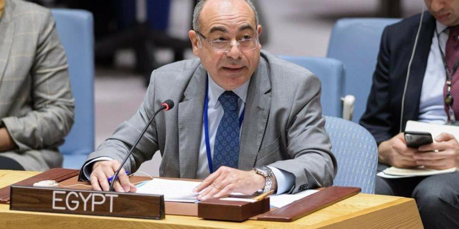 مصر أمام مجلس الأمن: ندعم الأشقاء بدول الساحل في مكافحة الإرهاب ونرفض نشر الإرهابيين الأجانب في ليبيا