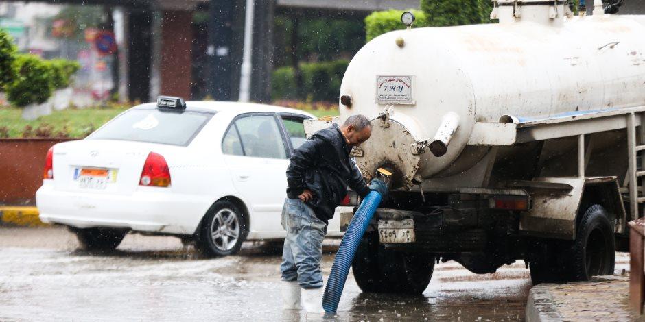 الأرصاد تكشف موعد انتهاء موجة الطقس السيئ