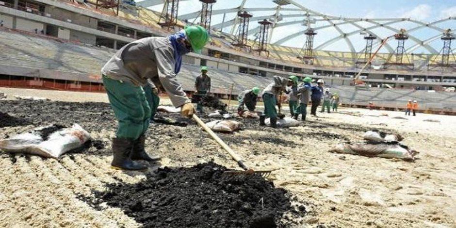 مؤسسة حقوقية للعمل الدولية: لماذا لا تحموا العمالة الأجنبية في قطر من خطر كورونا؟