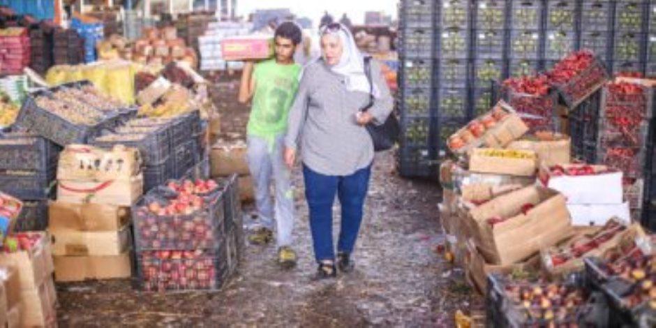 شعبة الخضروات والفاكهة: سوق العبور يعمل بكامل طاقته ولا صحة لغلقه لأعمال التعقيم
