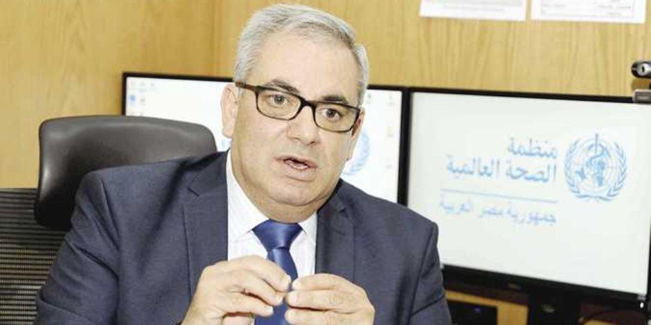 ممثل الصحة العالمية: نظام الترصد الوبائى بمصر من أقوى الأنظمة بإقليم شرق المتوسط
