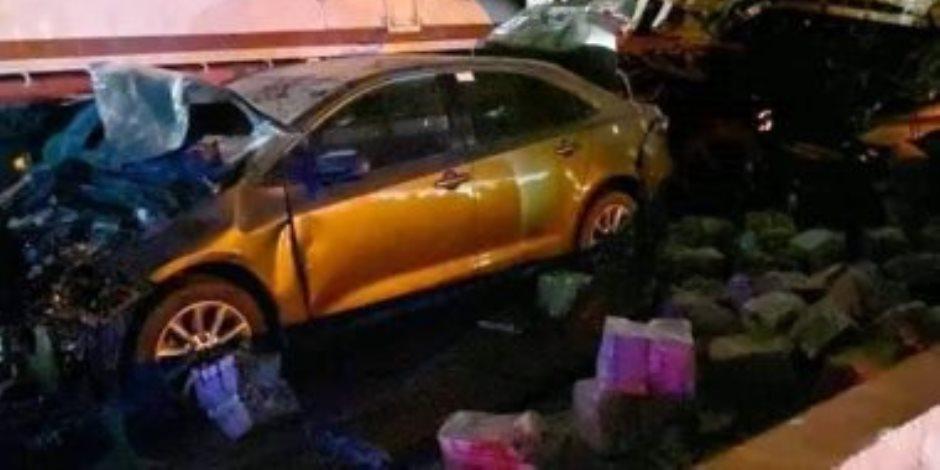 آخر تطورات حادث الدائري الإقليمي.. حبس السائق المتورط 4 أيام وإخضاعه لتحليل المخدرات