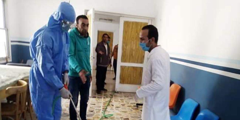 جامعة سيناء تشارك في حملة التعقيم والتطهير ضد فيروس كورونا بمدينة العريش.