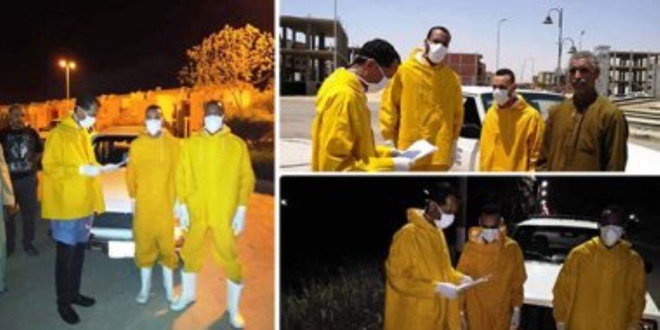 """يتعاملون مع مخالطي مصابى """"كورونا"""".. المراقبون الصحيون خلية نحل ضد الفيروس"""