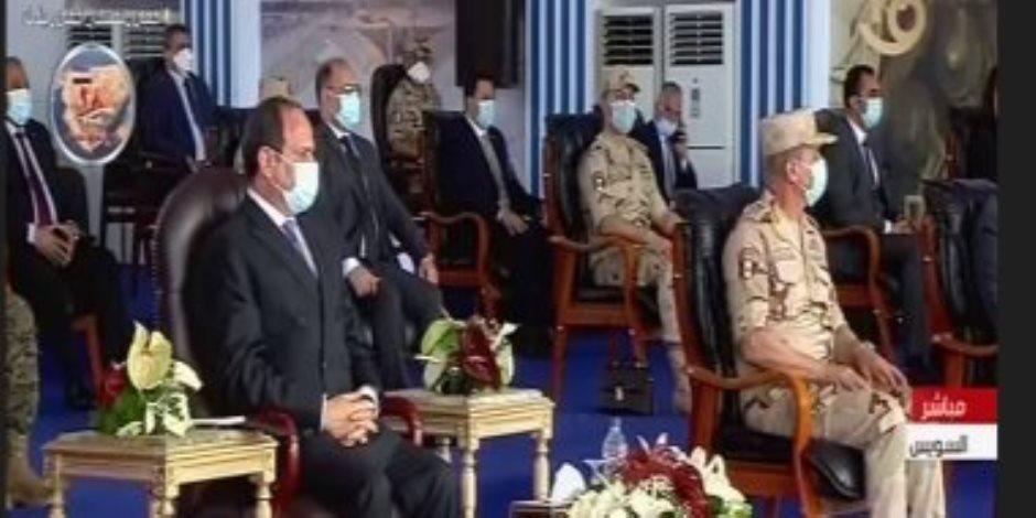 السيسى يطالب بتسمية شوارع ومدارس بأسماء شهداء الجيش والشرطة والأطباء