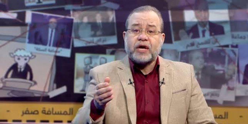 المذيع الإخواني ماجد عبد الله هاجم «الاختيار» فـ«ردت في صدره قتلته»