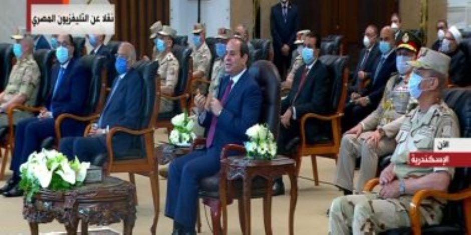 السيسي: مصر لديها القدرات الكافية لمواجهة كورونا والأمراض الأخرى