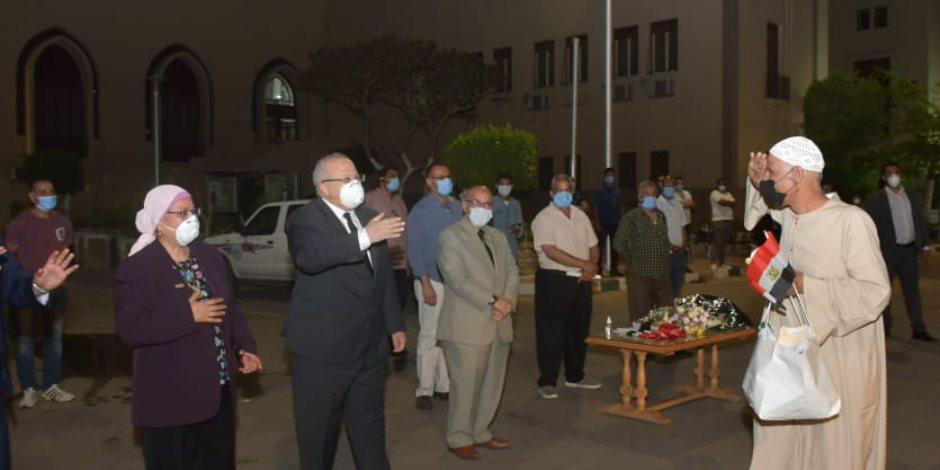 جامعة القاهرة: انتهاء فترة الحجر الصحي لـ16 فوجًا للعائدين من الخارج