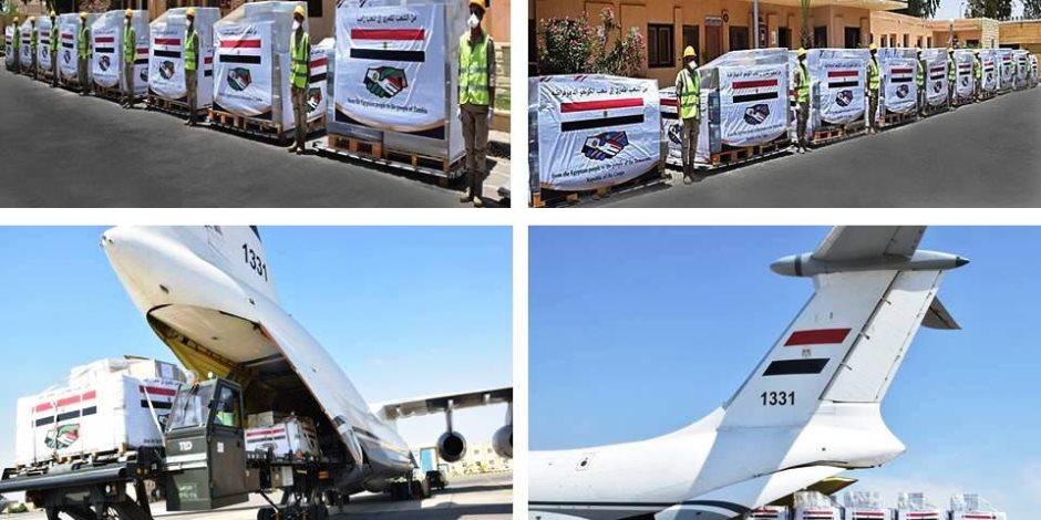 إرسال كميات كبيرة من المساعدات الطبية للهند بتوجيهات من الرئيس السيسي