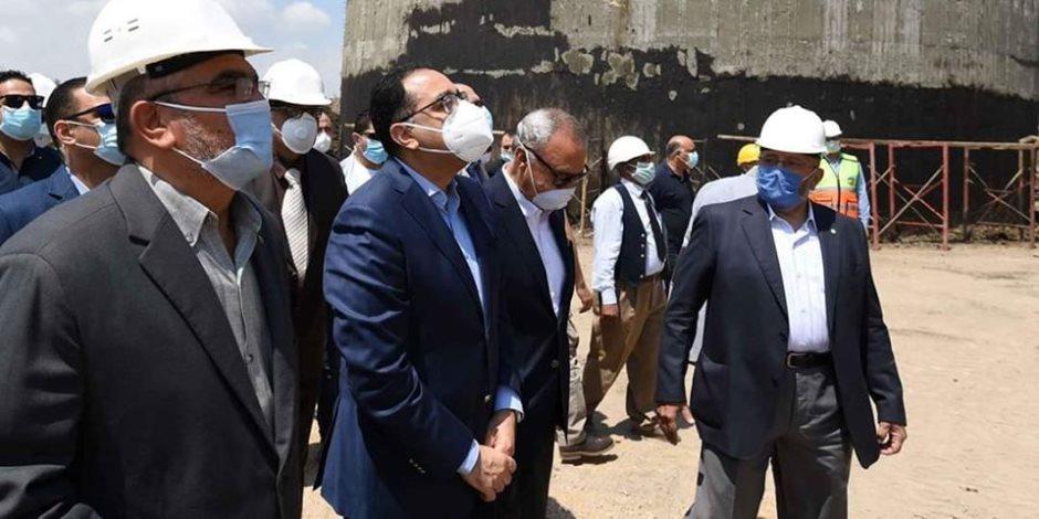 """عام جديد لـ""""السيسى"""" في مسيرة بناء مصر.. مشروعات عملاقة بالقليوبية (صور)"""