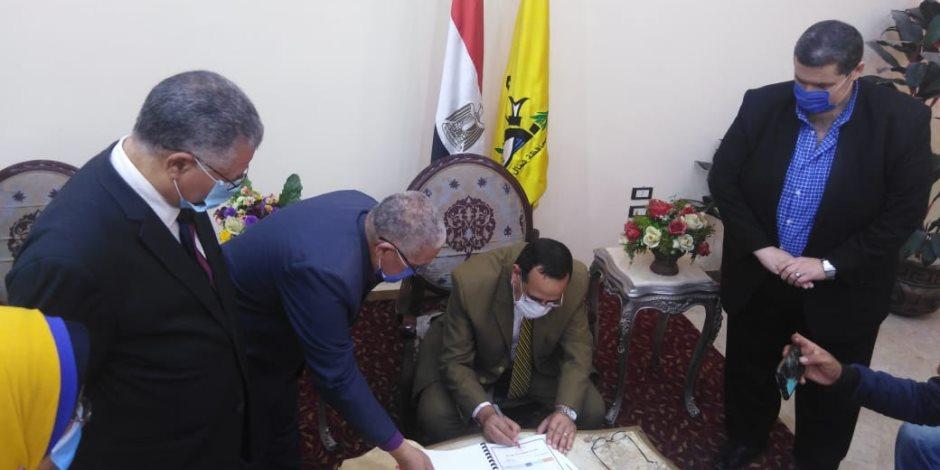 اعتماد نتيجة الفصل الدراسي الثانى للشهادة الإعدادية بشمال سيناء بنسبة نجاح 100%