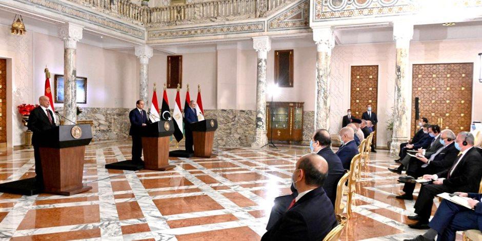 """مصر تنتصر في ليبيا وتقطع الطريق أمام السيناريو الأسود.. البداية بـ""""إعلان القاهرة"""" لتجميع الفرقاء الليبيين.. والنتيجة باتفاق وقف إطلاق النار بقيادة """"الدبلوماسية المصرية"""""""
