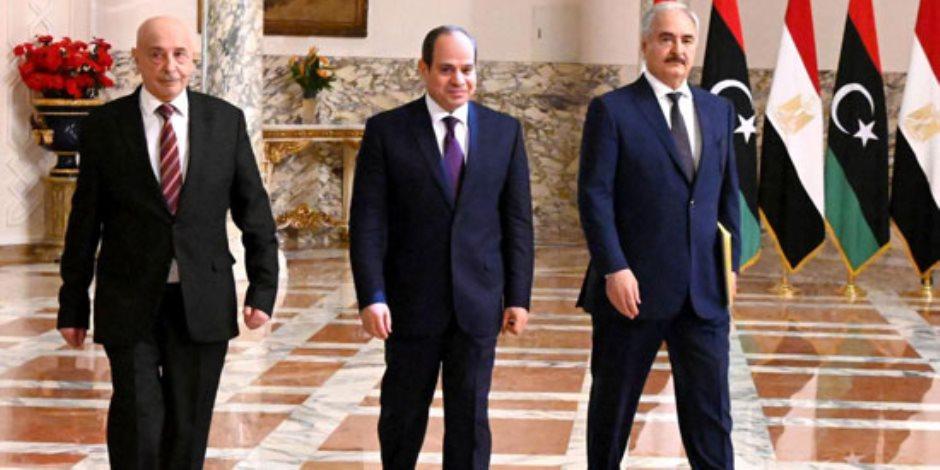 الرئاسة الجزائرية تعلن ترحيبها بالمبادرة المصرية لحل الأزمة الليبية