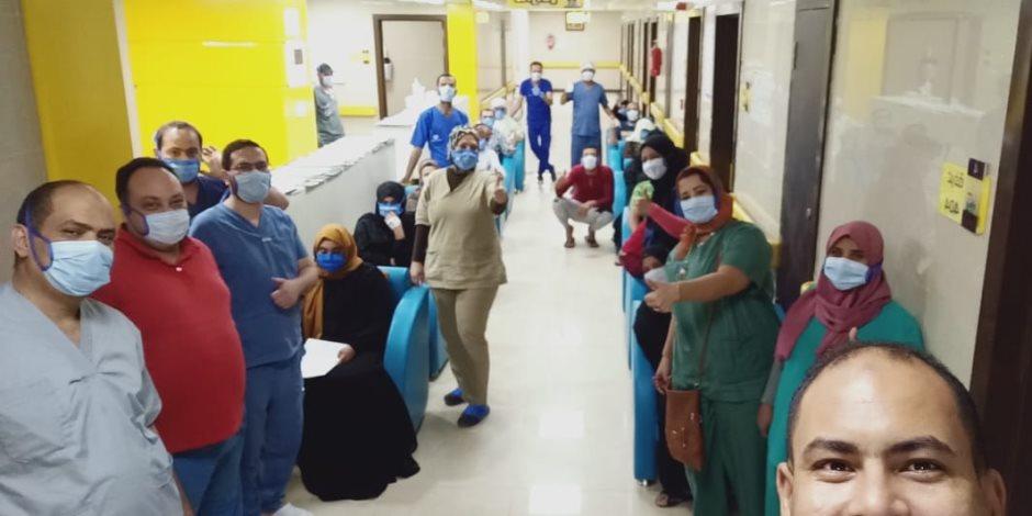 ارتفاع حصيلة المتعافين من كورونا بمستشفى إسنا للعزل الصحى لـ 630 حالة