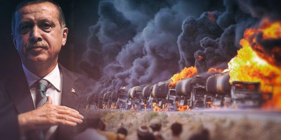 """""""الطيران المجهول"""" يدمر أسطورة """"المجنون"""".. العار يلاحق أردوغان بعد تدمير منظومة الدفاع الجوى التركية في ليبيا"""