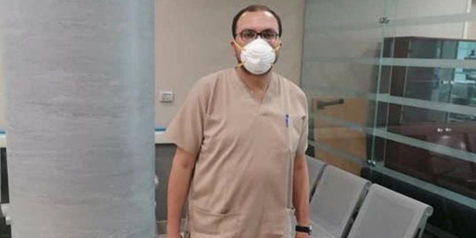 صور .. إيجابية المسحة الثانية لطبيب رجاء الجداوى فى العزل الصحى