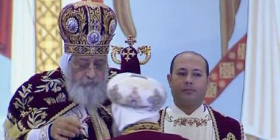 البابا تواضروس: تأجيل فتح الكنائس بالقاهرة والإسكندرية أسبوعين