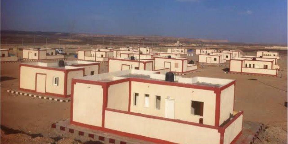 سيناء في مرمى التعمير.. إنشاء وتوزيع 115 منزلاً بدويًا بمركزي الحسنة ونخل بوسط سيناء
