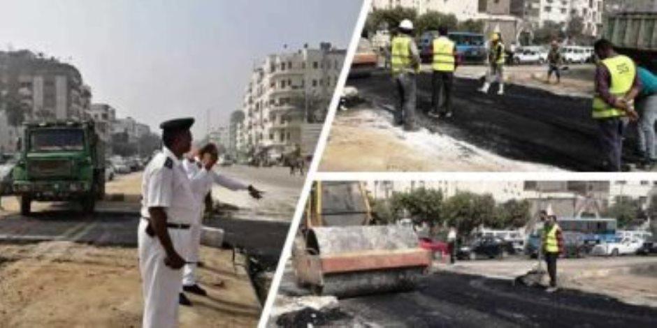 الداخلية: الخميس غلق جزئي لشارع الهرم لتنفيذ أعمال الخط الرابع لمترو الأنفاق