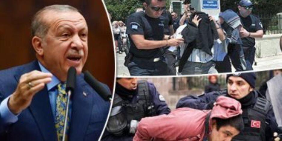 أطماع أردوغان في سوريا والعراق وليبيا شغلته عن شعبه.. والداخل التركي يغلي من الفساد والإهمال