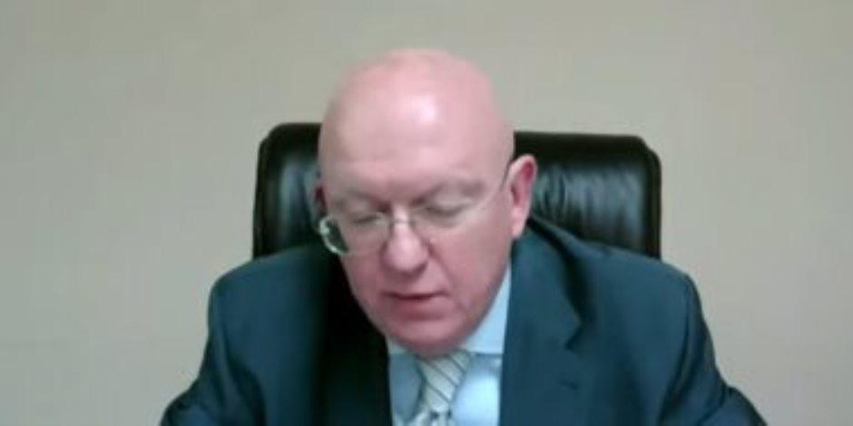 مندوب روسيا بمجلس الأمن: الرئيس السيسى أكد ضرورة وجود حل ليبى للأزمة