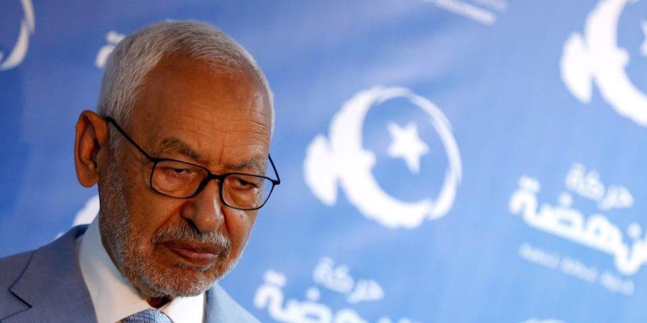 انتفاضة تونسية ضد إرهاب الإخوان.. اعتصام مفتوح أمام مقر «اتحاد القرضاوي»